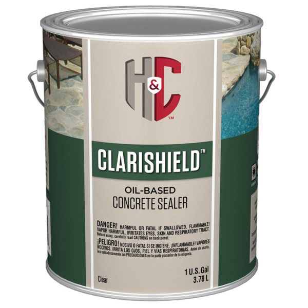 H&C Clarishield Solvent-Based Concrete Sealer