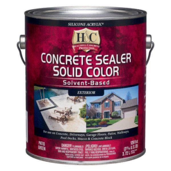 H&C Concrete Sealer Solid Color Solvent-Based