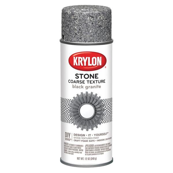 Krylon Coarse Stone Black Granite 18201