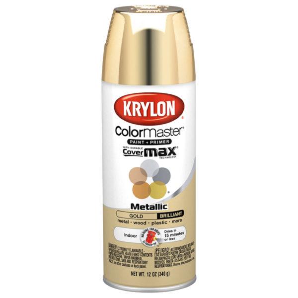 Krylon Colormaster Metallic Gold 51510