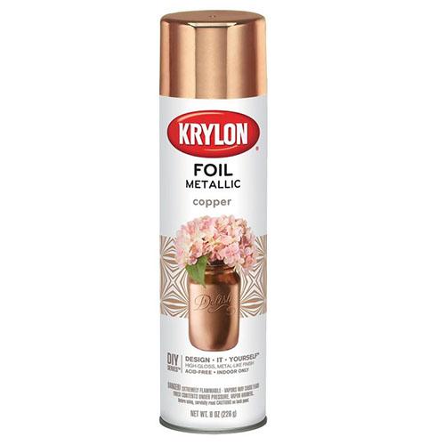 Krylon Foil Metallic Copper 1070