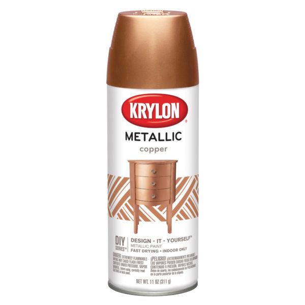Аэрозольная краска Krylon General Purpose Metallic Copper 2203