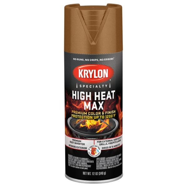 Аэрозольная высокотемпературная краска Krylon High Heat Max Copper 1609
