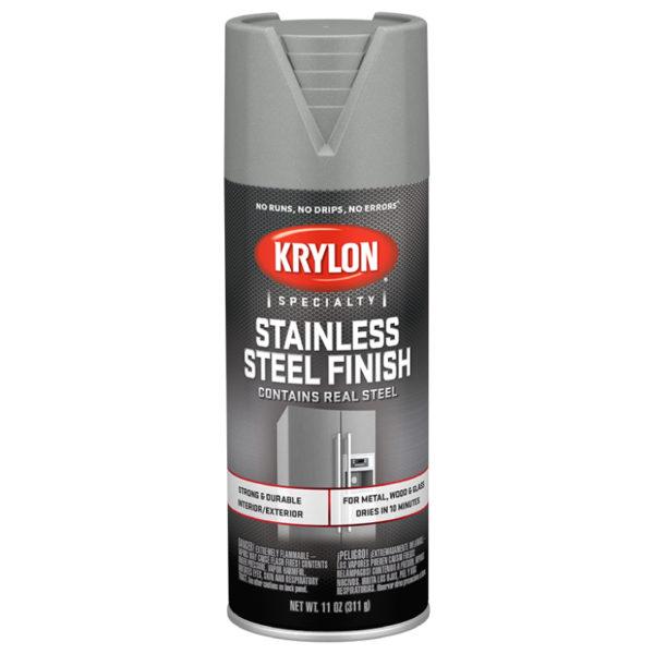 Аэрозольная краска нержавеющая сталь Krylon Stainless Steel Finish 2400