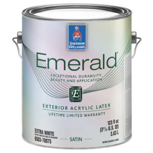Sherwin-Williams Emerald Exterior Satin