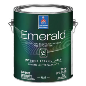 Sherwin-Williams Emerald Interior Flat