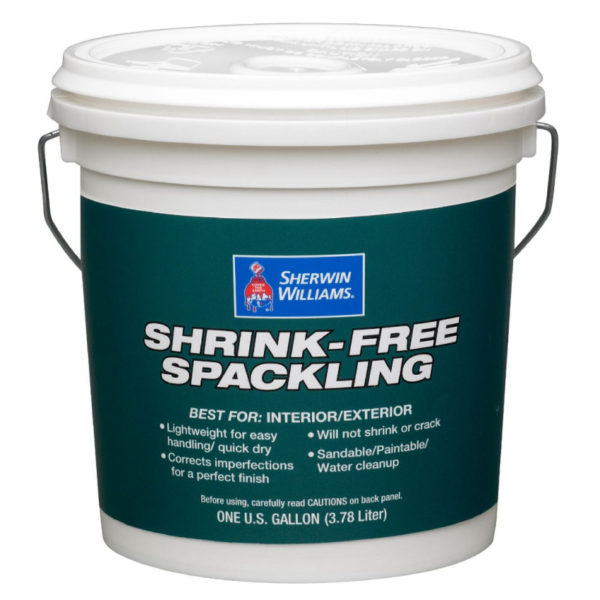 Sherwin-Williams Shrink Free Spackling