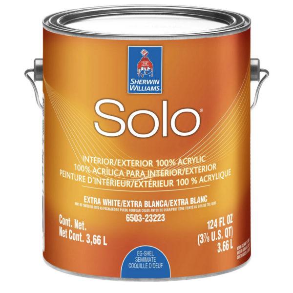 Акриловая краска для экстерьерных и интерьерных работ Sherwin-Williams Solo Eg-Shel