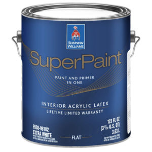 Sherwin-Williams SuperPaint Flat