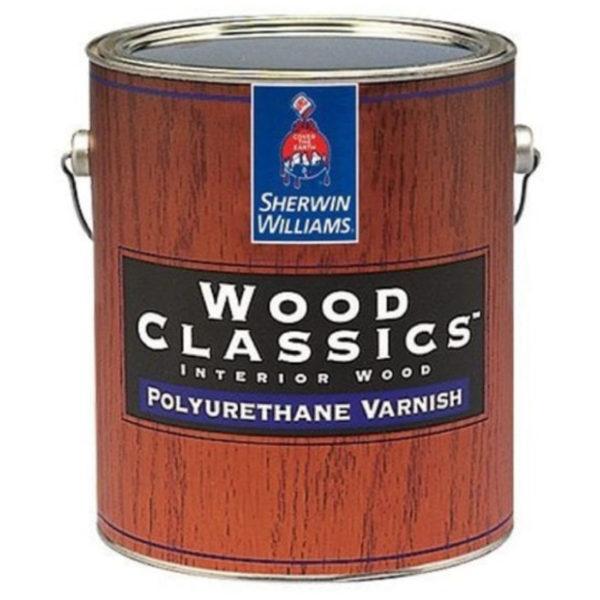 Интерьерный лак для дерева Sherwin-Williams Wood Classics Polyurethane Varnish