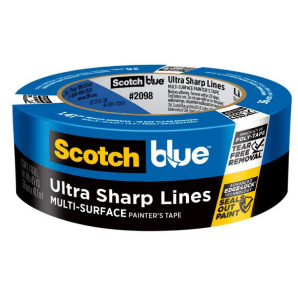 3M ScotchBlue Ultra Sharp Lines Multi-Surface Painter's Tape