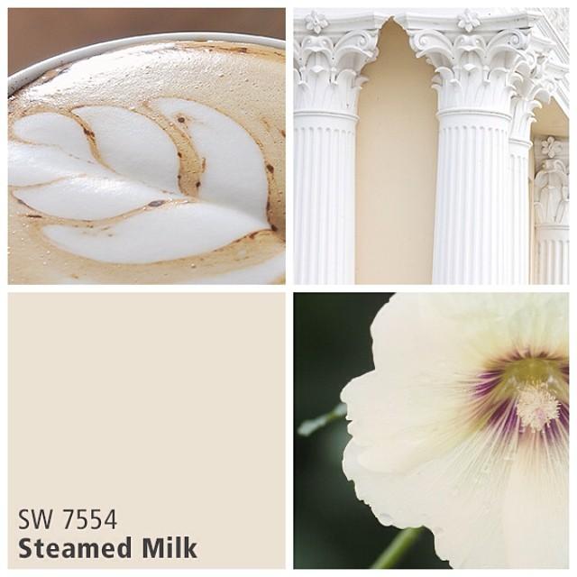 SW 7554 Stwmed Milk