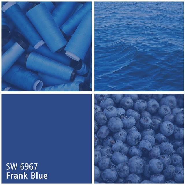 SW 6967 Frank Blue