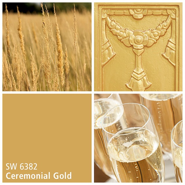 SW 6382 Ceremonial Gold