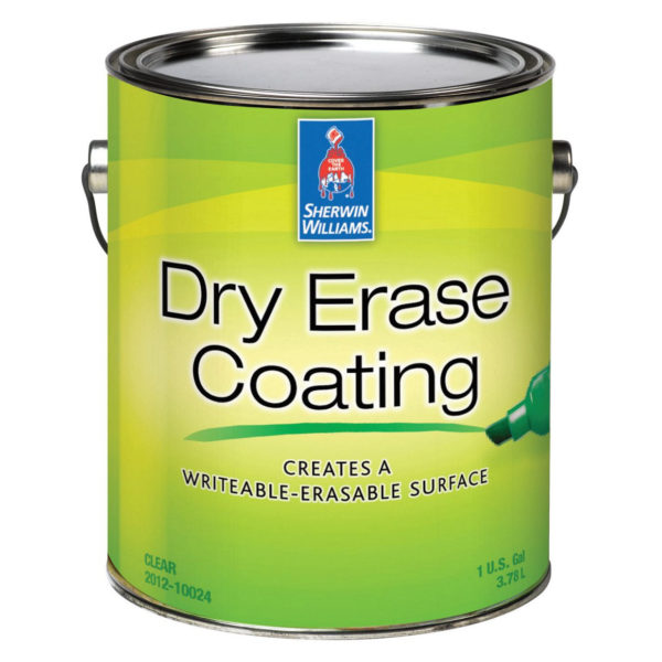 Sherwin-Williams Dry Erase Clear Gloss Coating
