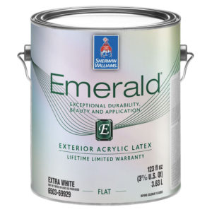 Sherwin-Williams Emerald Exterior Acrylic Latex Paint Flat