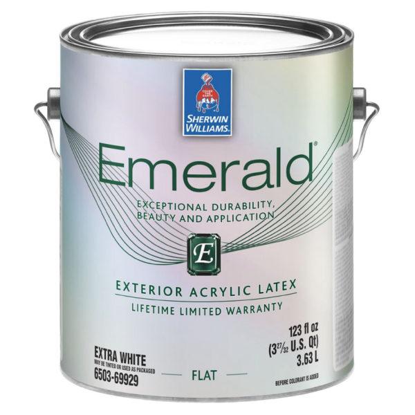 Sherwin-Williams Emerald Exterior Acrylic Latex Paint Flat
