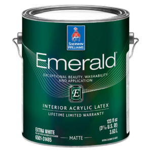 Sherwin-Williams Emerald Interior Acrylic Latex Paint Matte