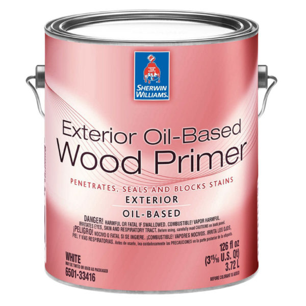 Sherwin-Williams Exterior Oil-Based Wood Primer