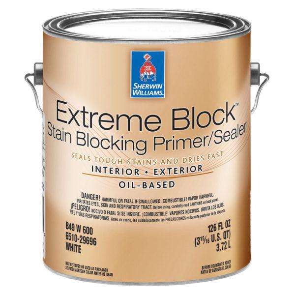 Sherwin-Williams Extreme Block Interior Exterior Stain Blocking Alkyd Primer