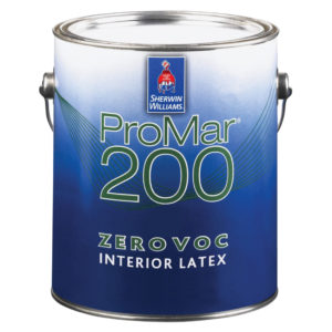 Sherwin-Williams ProMar 200 Zero VOC Interior Latex Eg-Shel