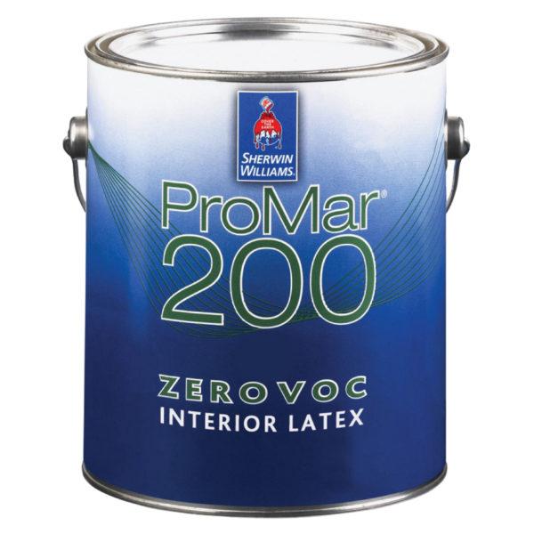 Sherwin-Williams ProMar 200 Zero VOC Interior Latex Eg-Shel
