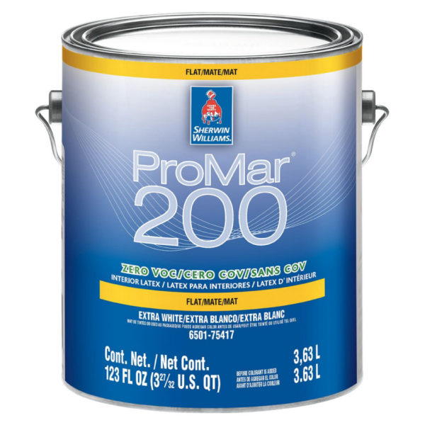 Sherwin-Williams ProMar 200 Zero VOC Interior Latex Flat