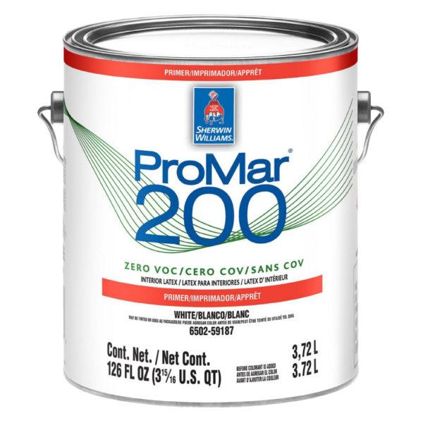 Sherwin-Williams ProMar 200 Zero VOC Interior Latex Primer