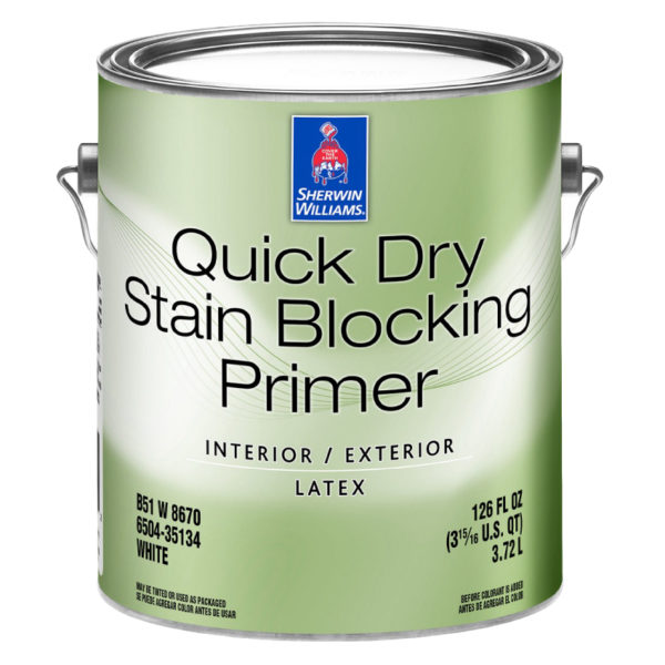Sherwin-Williams Quick Dry Interior Exterior Stain Blocking Primer