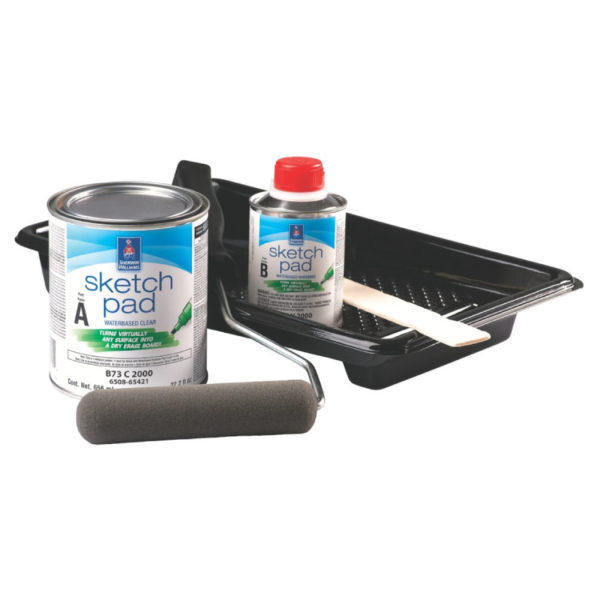 Sherwin-Williams Sketch Pad Dry Erase Coating