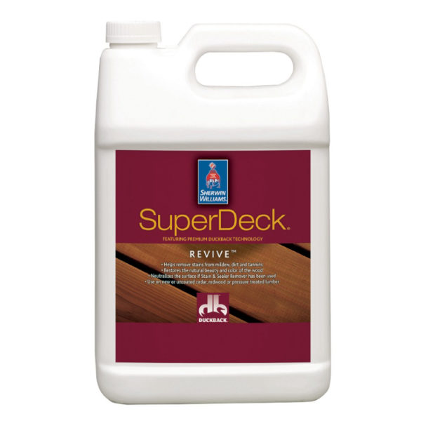 Sherwin-Williams SuperDeck Revive Deck and Siding Brightener