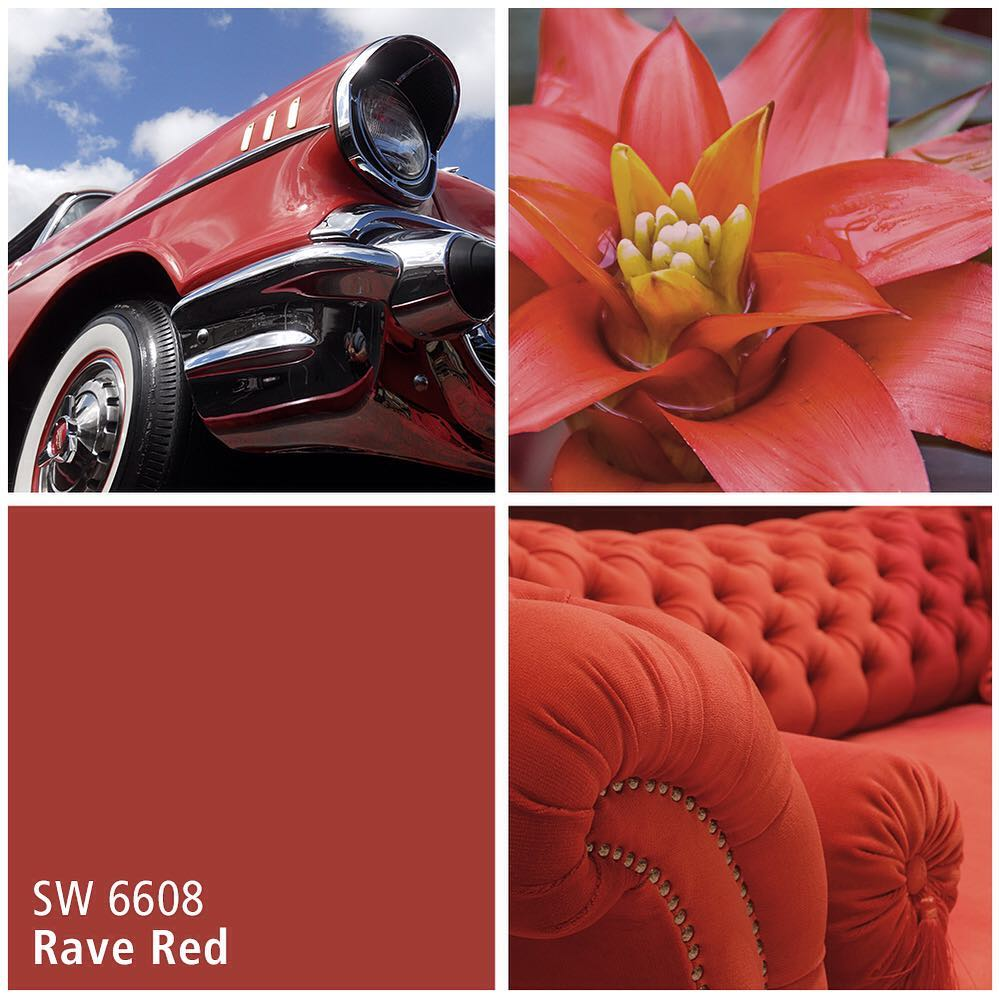 SW 6608 Rave Red
