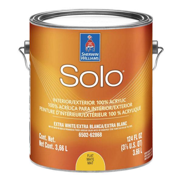 Краска для внутренних и наружных работ Sherwin-Williams Solo Flat