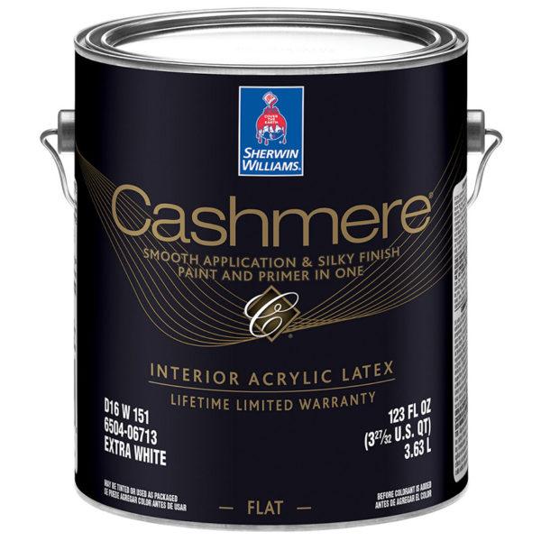 Совершенно матовая краска для стен Sherwin-Williams Cashmere
